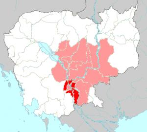 カンボジア砒素汚染地図