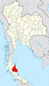 タイの砒素汚染マップ