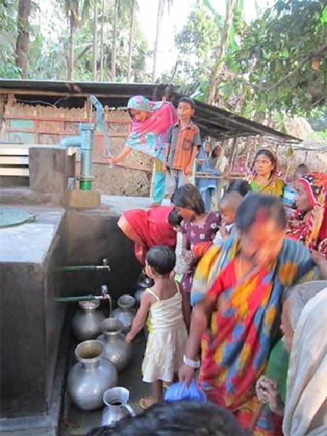 安全な井戸水