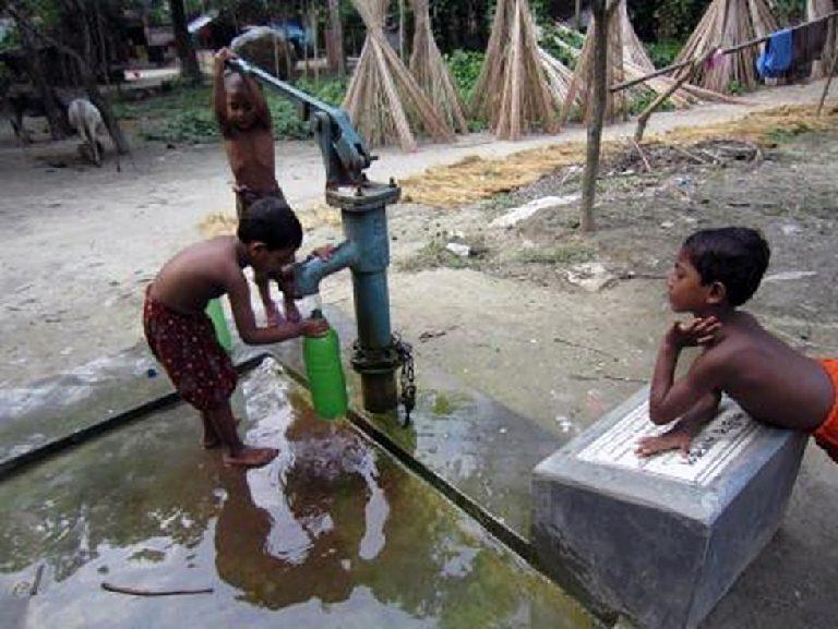 代替水源:深井戸